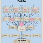 4 Generation Family Tree Template Free To Customize & Print   Free Printable Family Tree Template 4 Generations