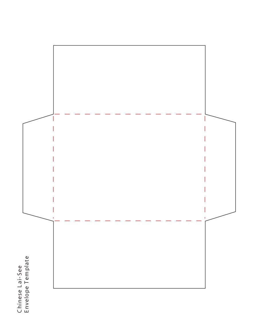 40+ Free Envelope Templates (Word + Pdf) - Template Lab - Free Printable Envelope Size 10 Template