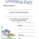 40+ Free Graduation Invitation Templates   Template Lab   Free Printable Invitations