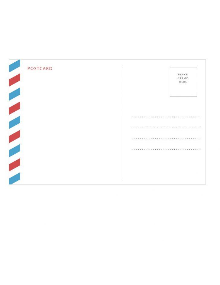 Free Blank Printable Postcards