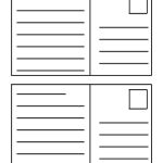 40+ Great Postcard Templates & Designs [Word + Pdf]   Template Lab   Free Printable Postcard Template