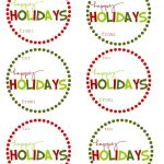 40 Sets Of Free Printable Christmas Gift Tags   Free Printable Holiday Stickers