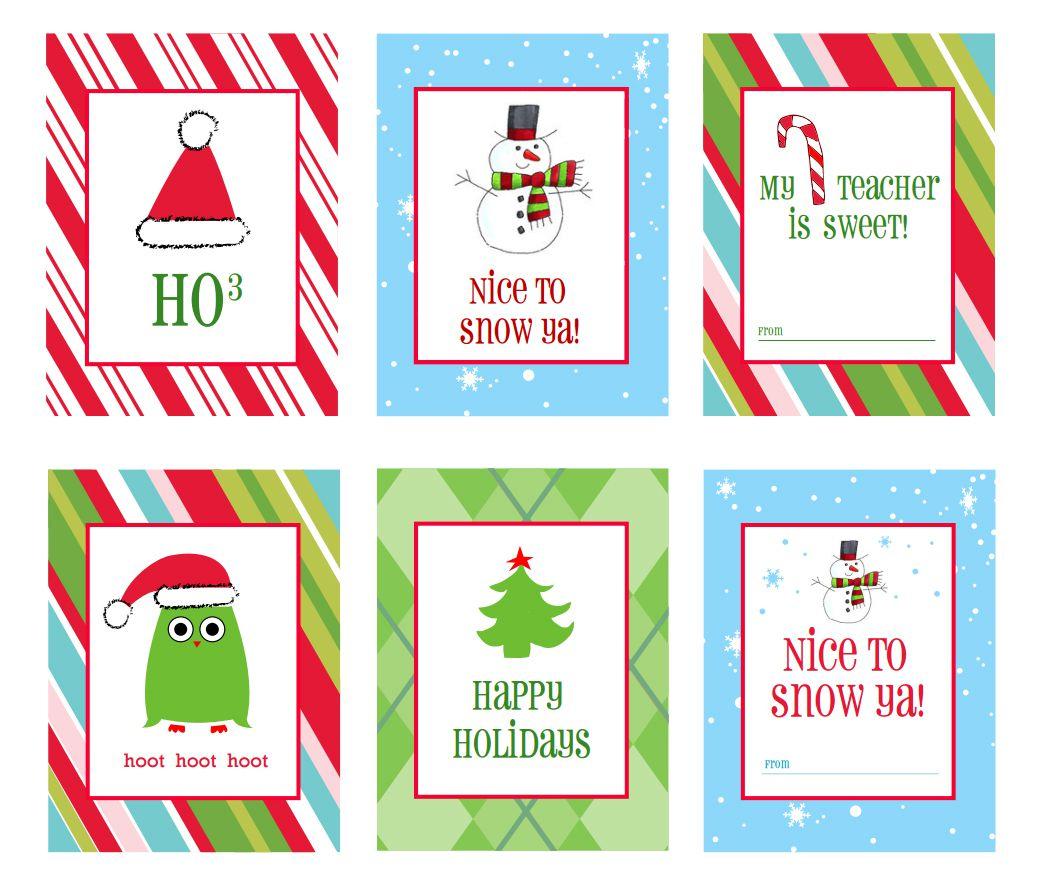 40 Sets Of Free Printable Christmas Gift Tags - Free Printable Personalized Christmas Invitations