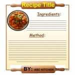 44 Perfect Cookbook Templates [+Recipe Book & Recipe Cards]   Free Printable Cookbooks Pdf