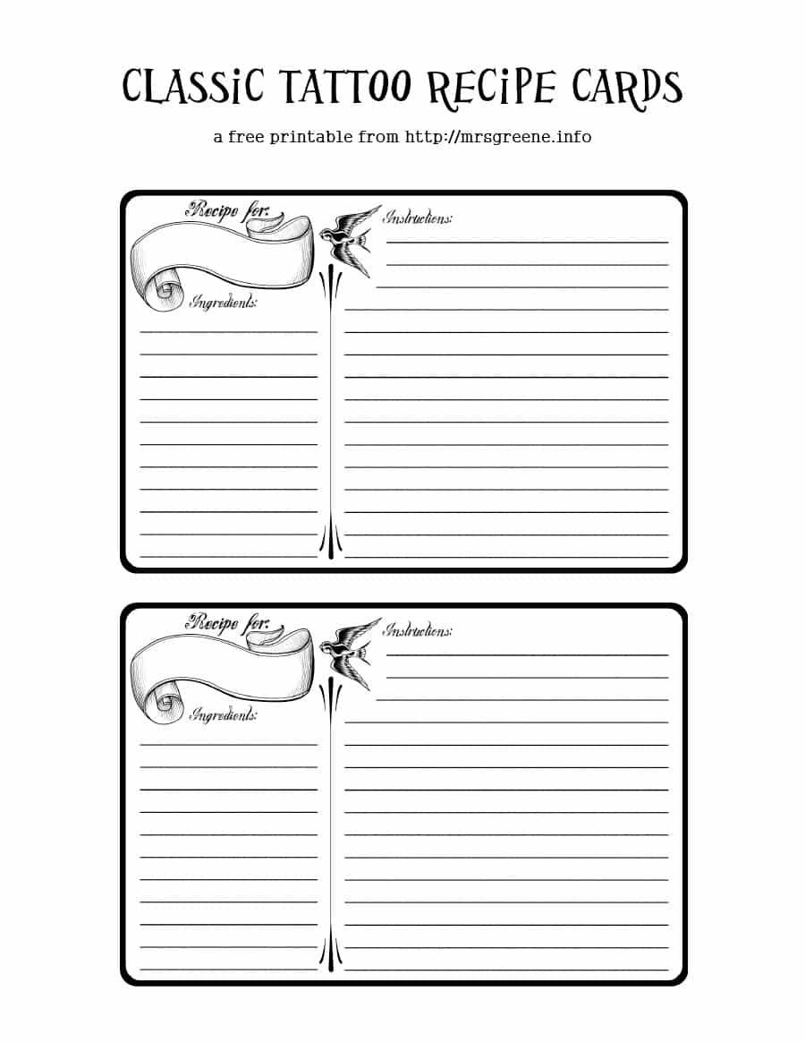 44 Perfect Cookbook Templates [+Recipe Book & Recipe Cards] - Free Printable Recipe Templates