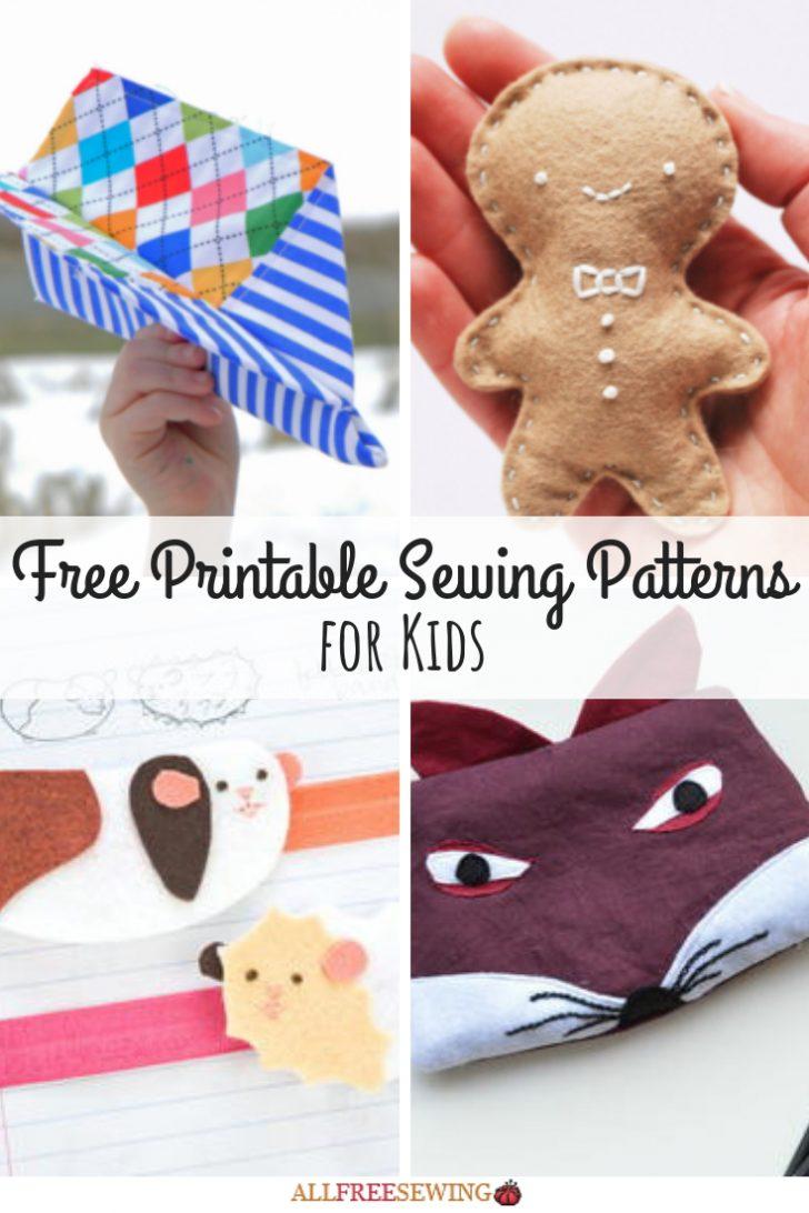 Free Printable Sewing Patterns For Kids