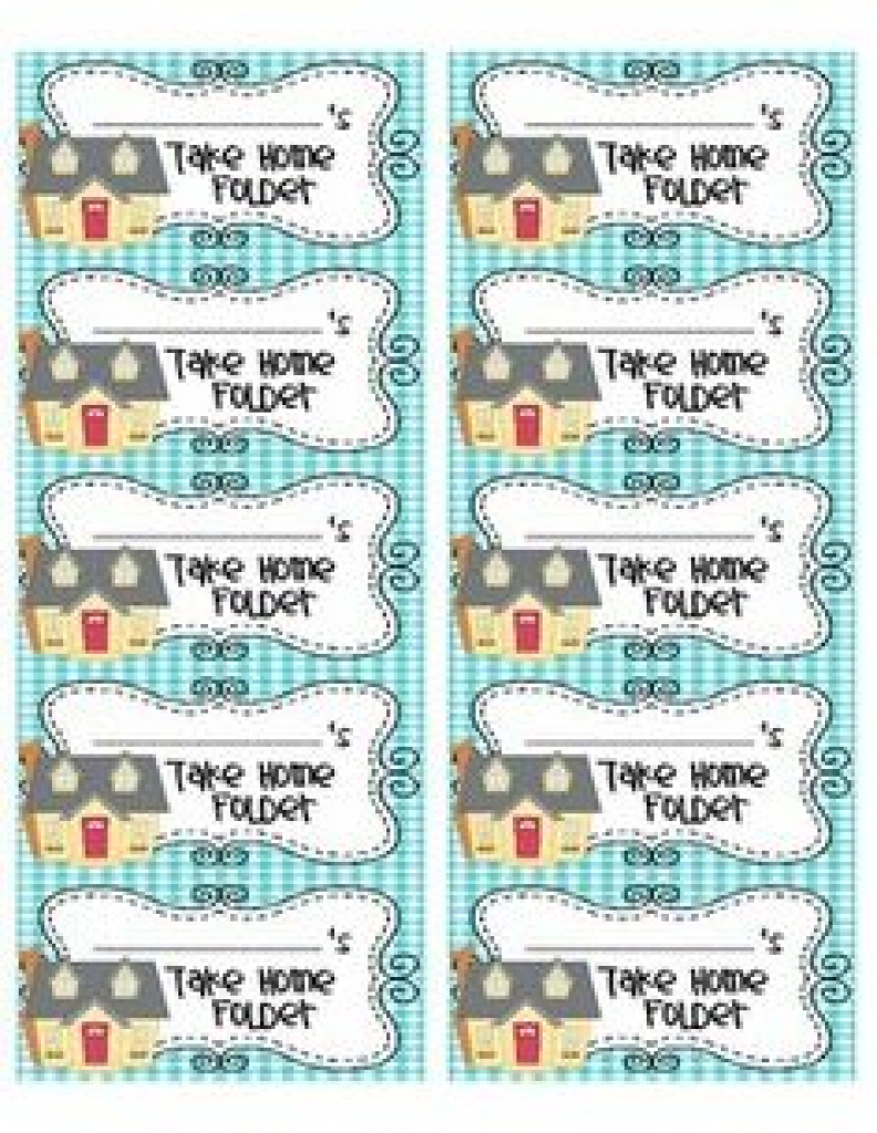 49 Best Take Home Folders Images On Pinterest In 2018 | Classroom - Free Printable Take Home Folder Labels