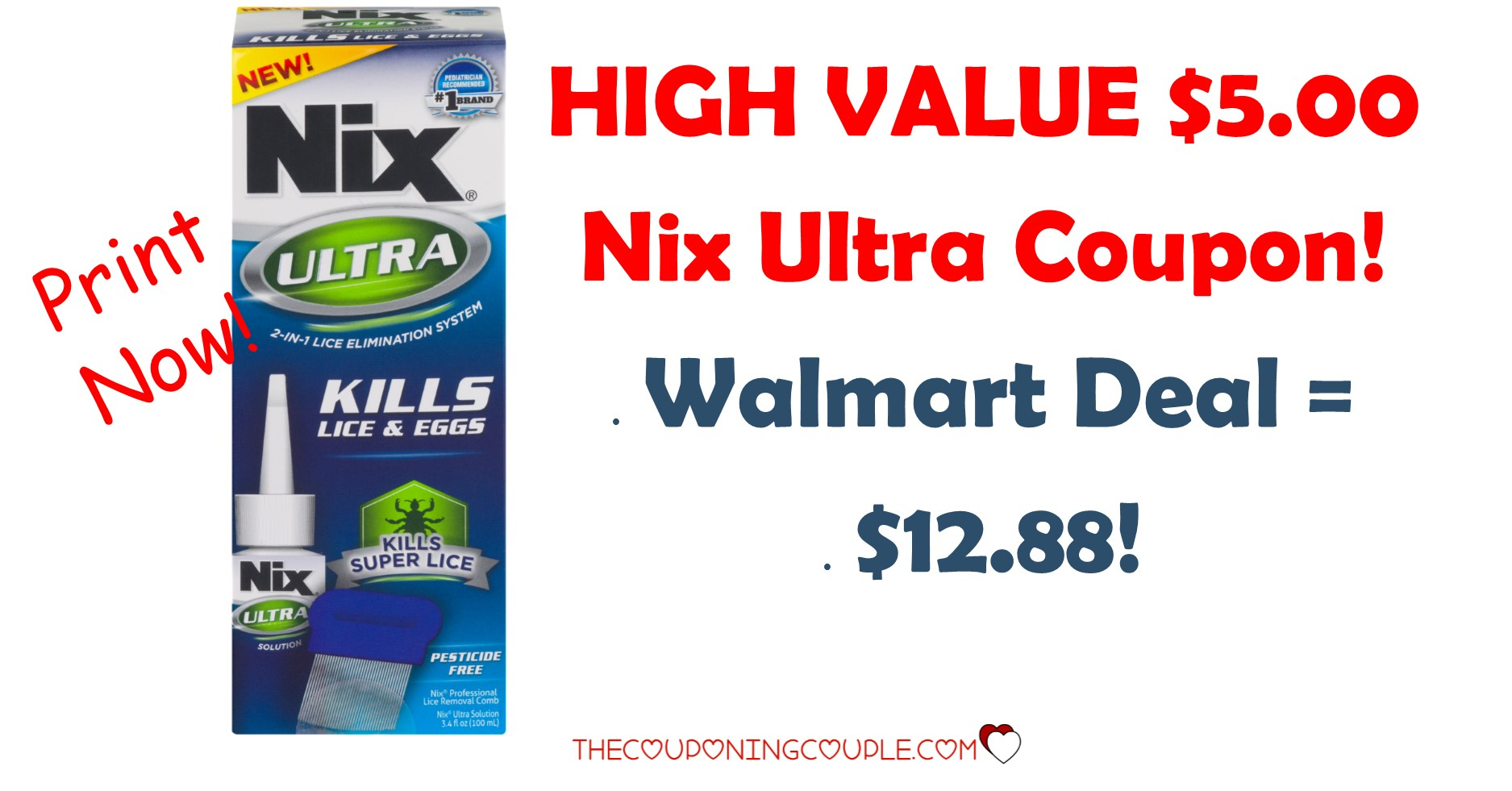 $5.00 Nix Ultra High Value Coupon + Walmart Deal! - Free High Value Printable Coupons