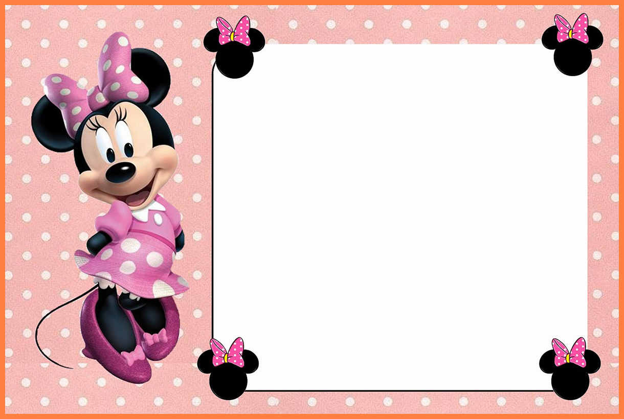 5+ Free Minnie Mouse Invitation Template | Andrew Gunsberg - Free Printable Mickey Mouse Invitations