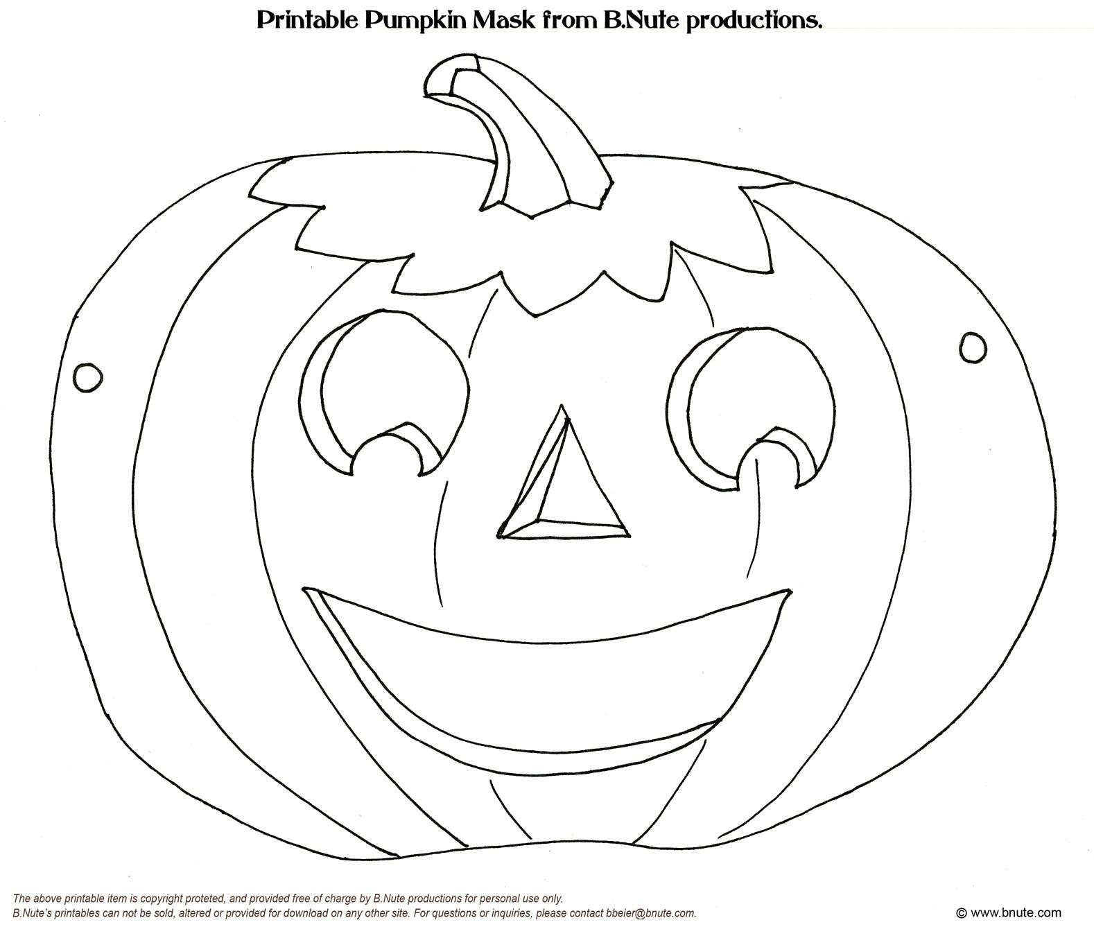 5 Free Printable Animal Mask Templates Sampletemplatess  Image - Free Printable Halloween Face Masks