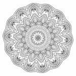 5 Free Printable Coloring Pages: Mandala Templates Intérieur   Free Printable Mandalas