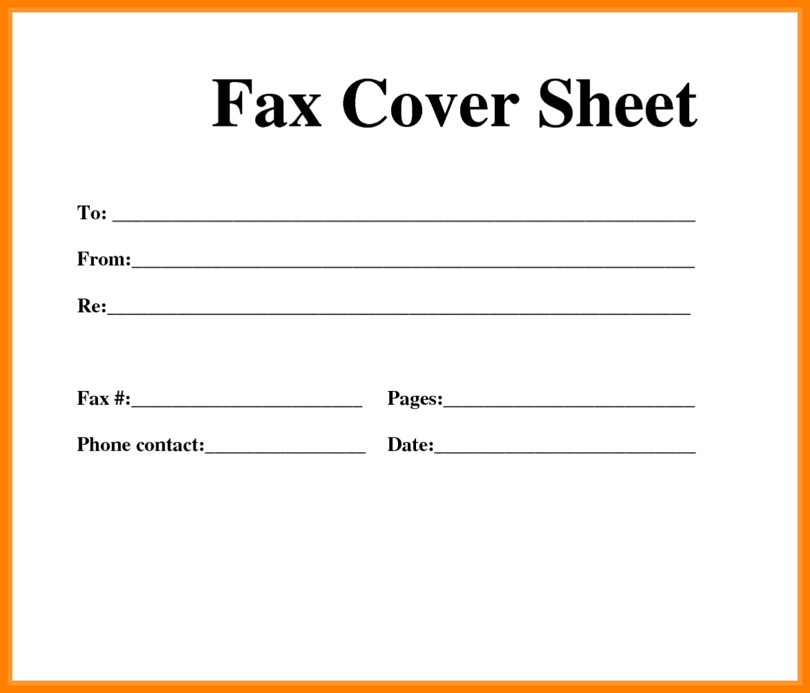 5+ Free Printable Fax Cover Sheets | Ledger Review - Free Printable Cover Letter For Fax