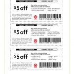 5 Off Free Printable Coupons Target   Free Printable Coupons 2017