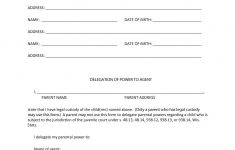 Free Printable Power Of Attorney Form California