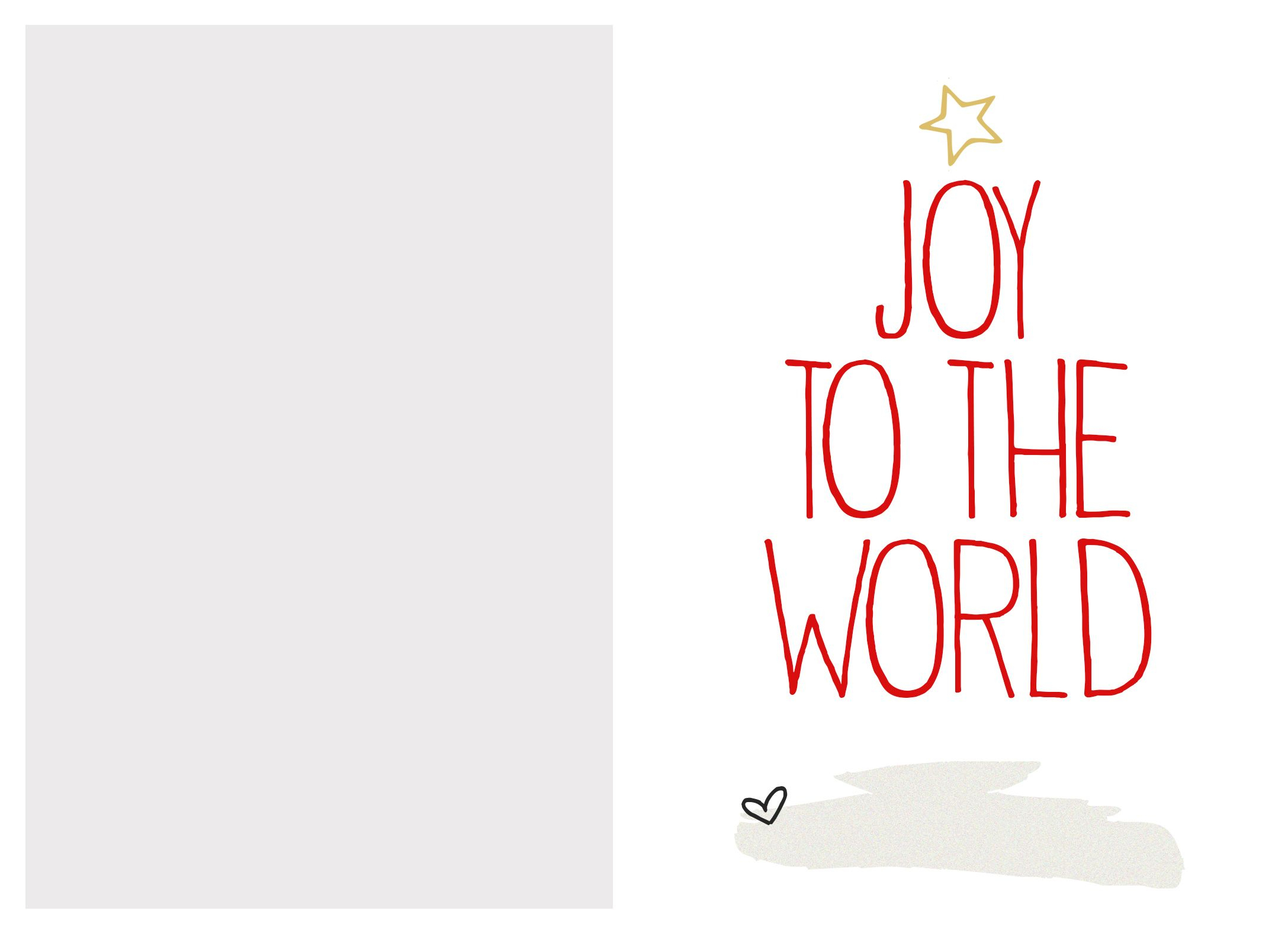 6 Best Images Of Free Printable Christmas Card Templates - Free Printable Xmas Cards