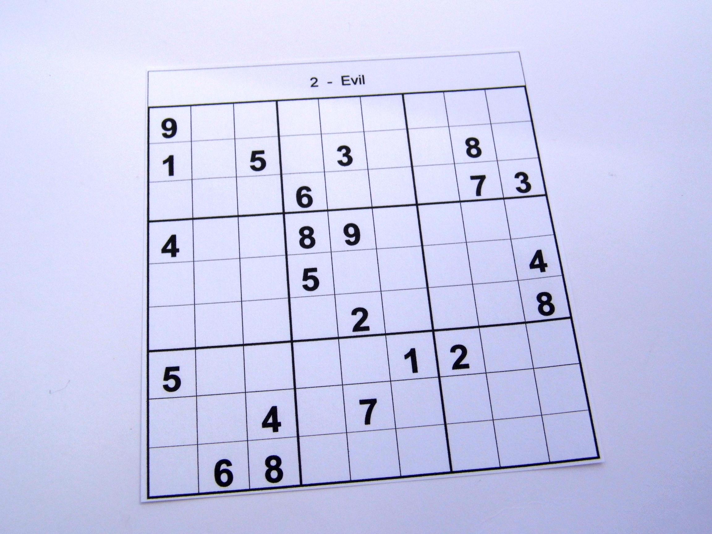 6 Puzzles Per Page – Free Sudoku Puzzles - Free Printable Sudoku 6 Per Page