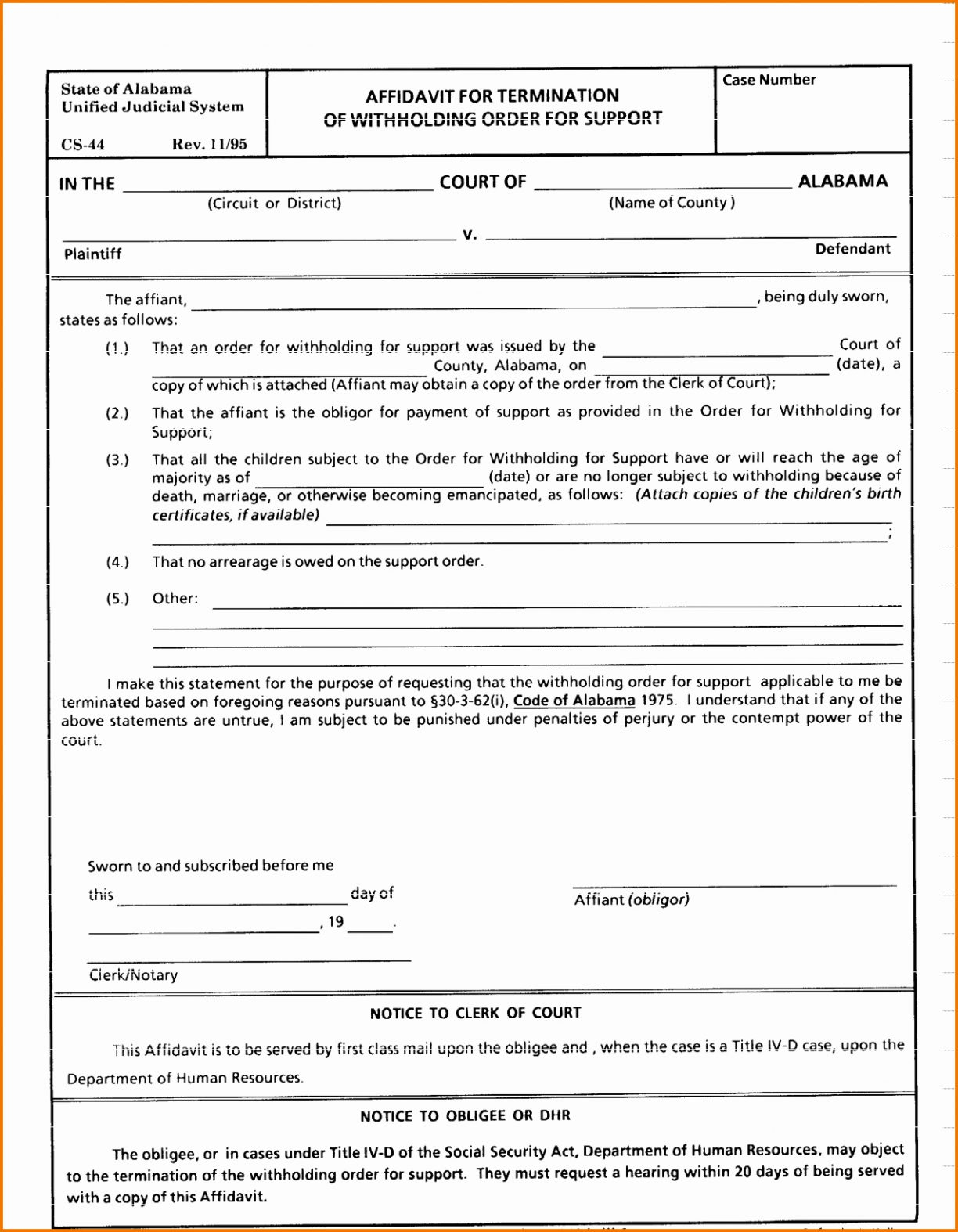 6 Sample Divorce Decree | Document Free Fake Papers Image Templates - Free Printable Divorce Papers For Illinois