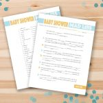 67 Free Printable Baby Shower Games   Free Printable Templates For Baby Shower Games
