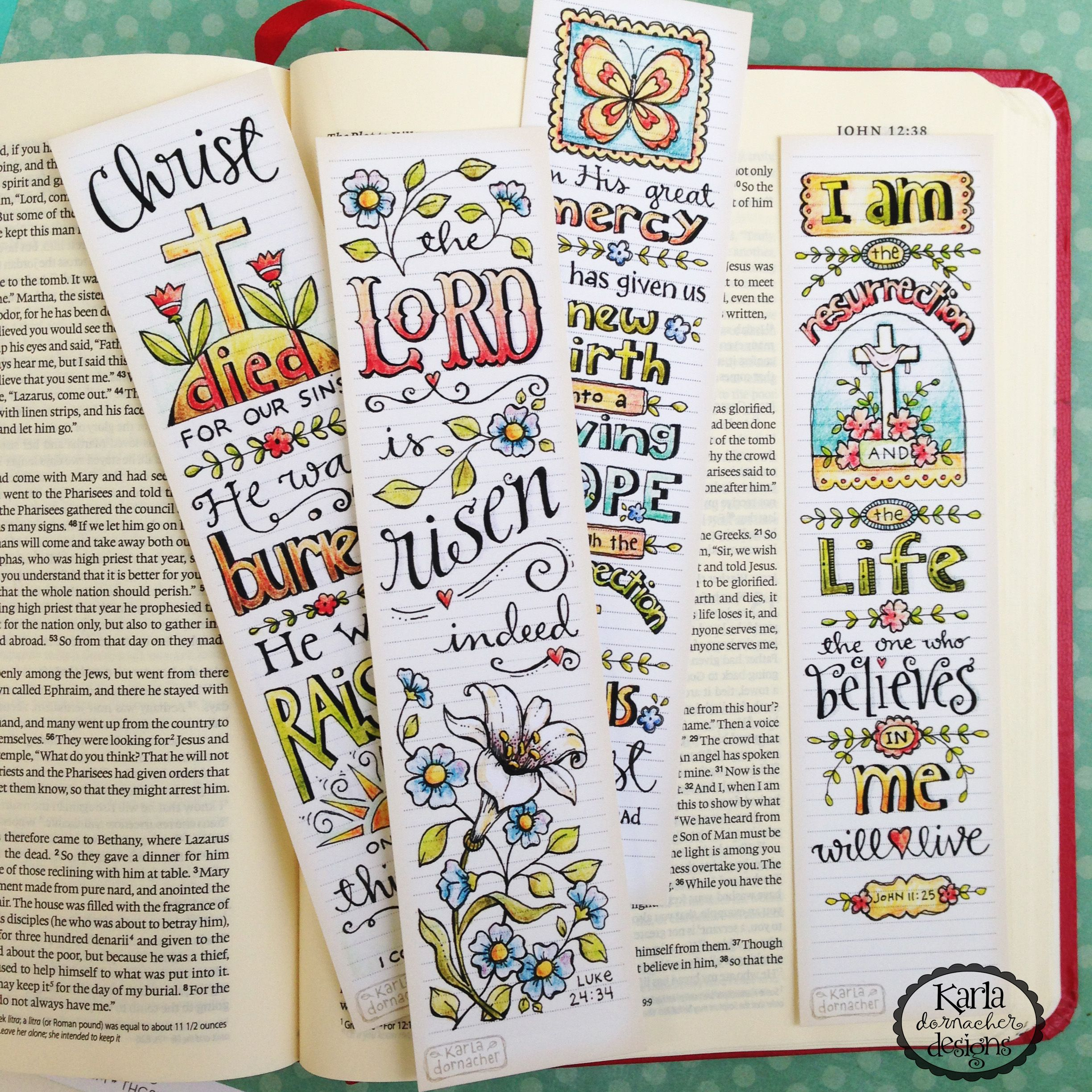 6A00D83451638369E201B7C7637555970B-Pi (2448×2448)   Bible Journaling - Free Printable Religious Easter Bookmarks