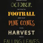 7 Free Fall Fonts (With Free Printable) | Font Series #25   Free Printable Fonts