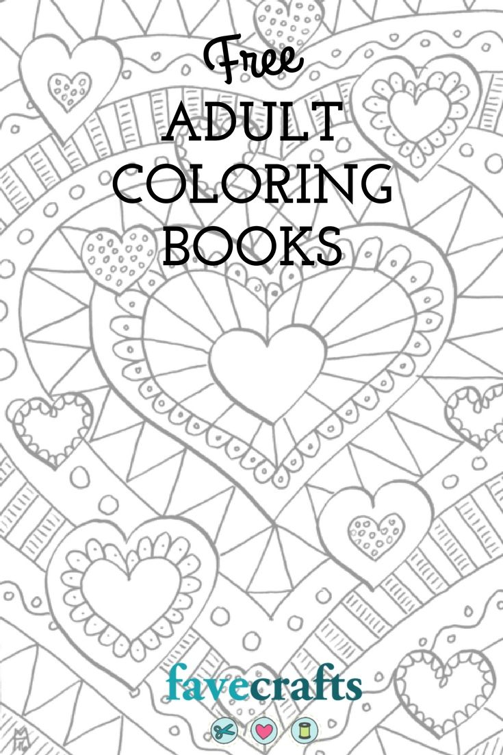 7 Free Printable Coloring Books (Pdf Downloads) | Free Adult - Free Printable Coloring Books Pdf