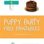 7 Free Puppy Party Printables That'll Make Your Child's Birthday   Dog Birthday Invitations Free Printable