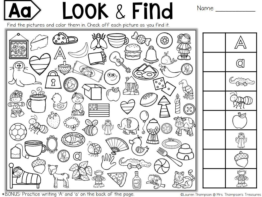 7 Places To Find Free Hidden Picture Puzzles For Kids - Free Printable I Spy Puzzles