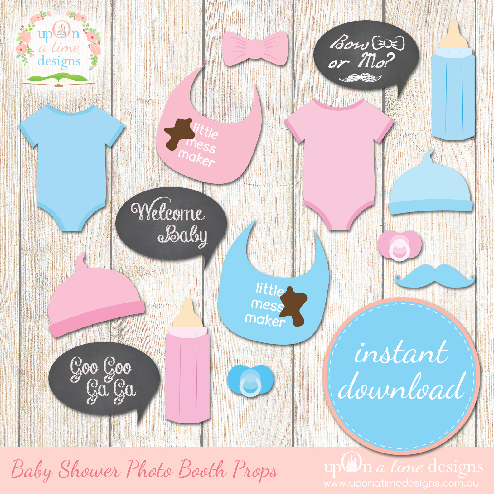 8 Best Images Of Free Printable Baby Shower Props Booth Kohler - Free Printable Baby Shower Photo Booth Props
