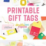 8 Colorful & Free Printable Gift Tags For Any Occasion!   Free Printable Goodie Bag Tags