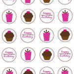 8 Cupcakes Ring Toppers Printables Photo   Diamond Ring Drink Tags   Free Printable Cupcake Toppers