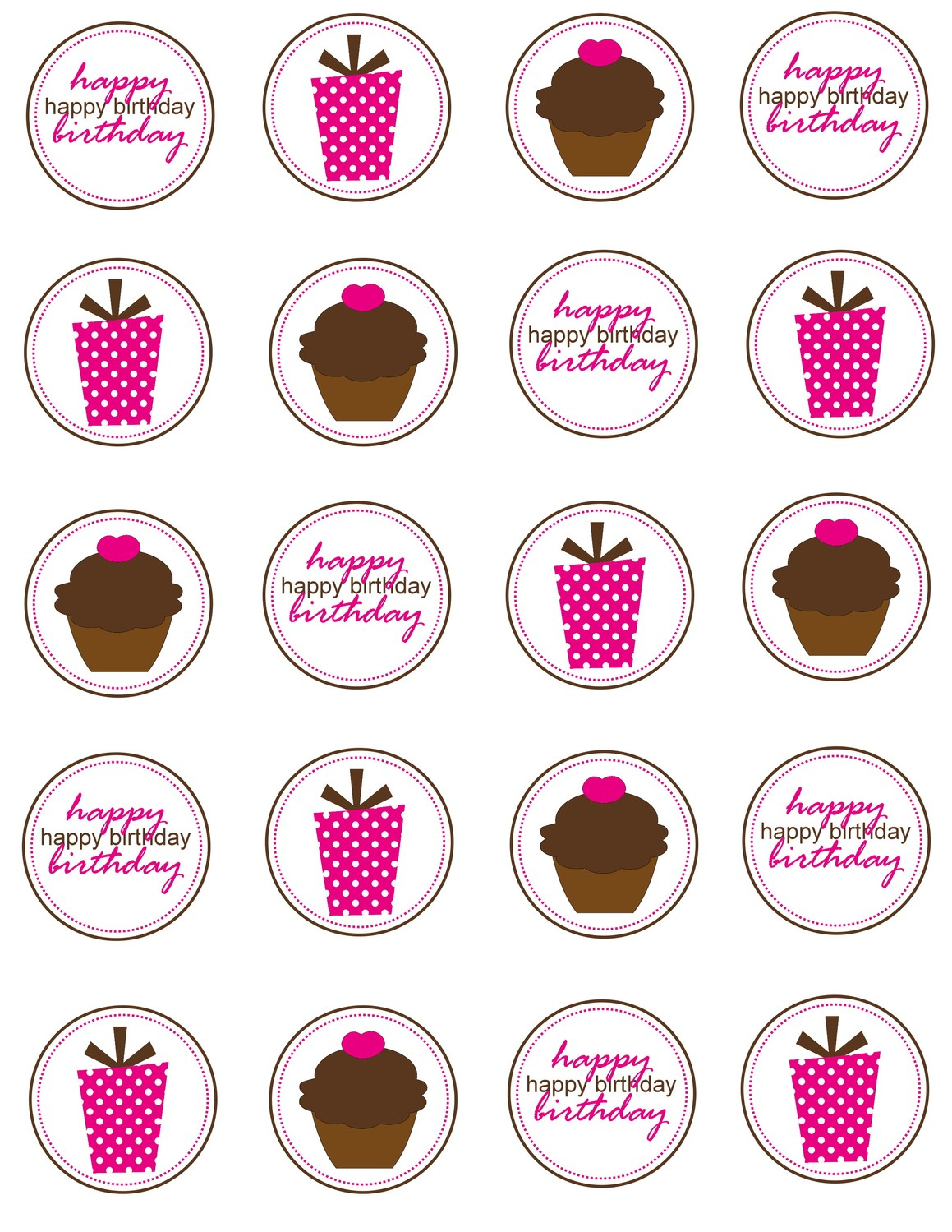 8 Cupcakes Ring Toppers Printables Photo - Diamond Ring Drink Tags - Free Printable Cupcake Toppers