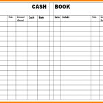 8+ Free Printable Accounting Ledger | Ledger Review   Free Cash Book Template Printable