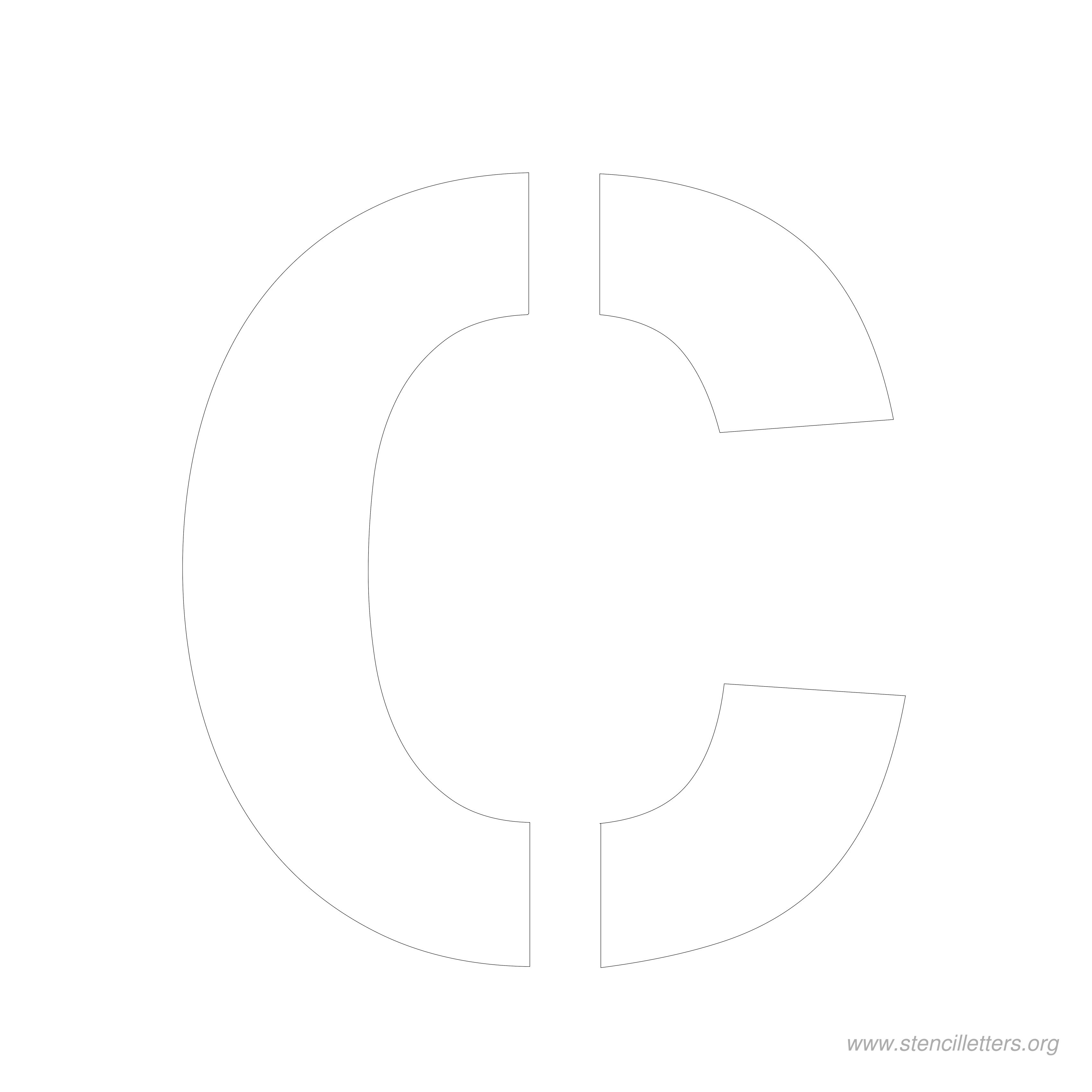 8 Inch Stencil Letters | Stencil Letters Org - Free Printable 10 Inch Letter Stencils