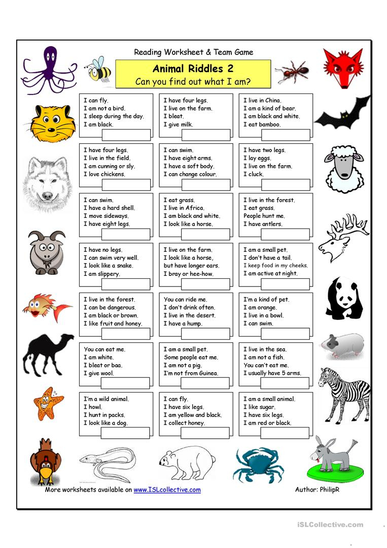 81 Free Esl Riddles Worksheets - Free Printable Riddles