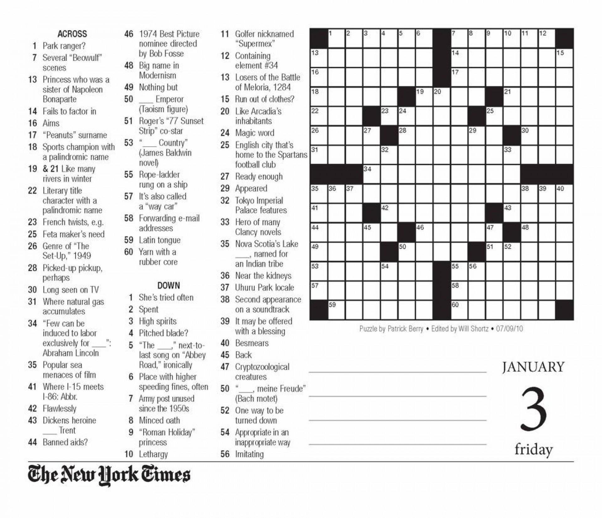 818Tu8Taxel Crossword Puzzle Printable New York Times ~ Themarketonholly - Free Printable Ny Times Crossword Puzzles