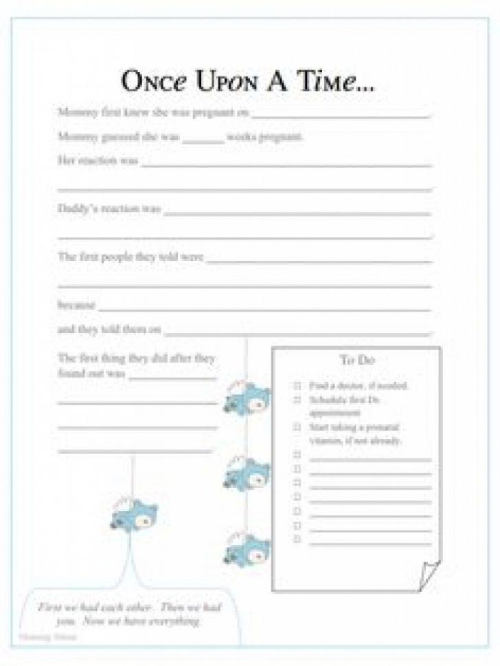 Free Printable Baby Memory Book
