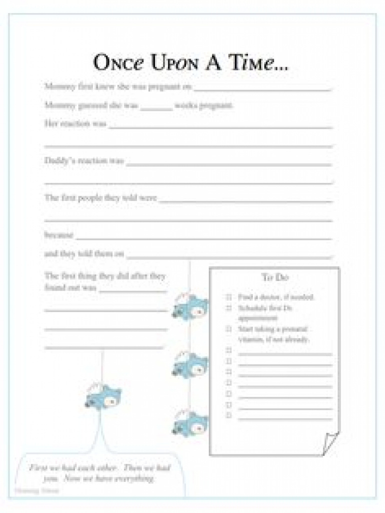 87 Best Baby Book Images On Pinterest | Baby Book Pages, Printables - Free Printable Baby Memory Book