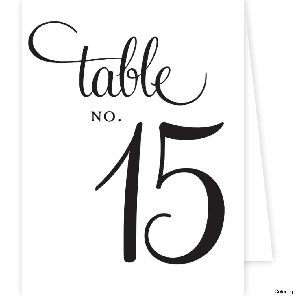 9 Best Images Of Free Printable Table Number Tent Template Within - Free Printable Table Numbers