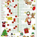 923 Free Esl Christmas Worksheets   Christmas Fun Worksheets Printable Free