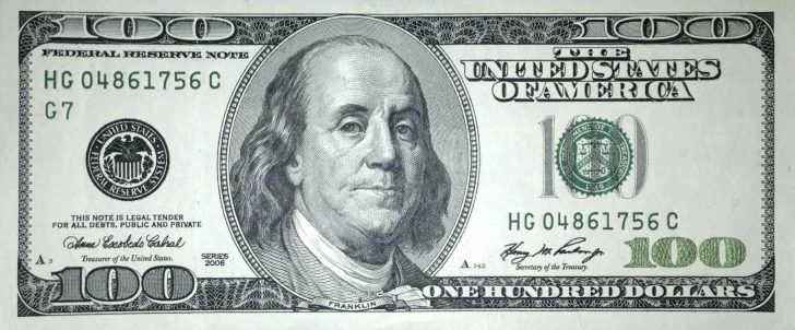 Free Printable 100 Dollar Bill