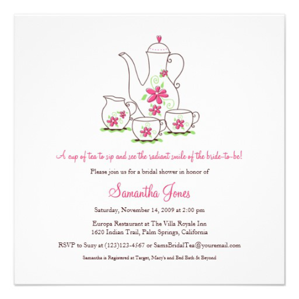 99+ Free Afternoon Tea Party Invitation Template Tea Party Pinterest - Free Printable Kitchen Tea Invitation Templates