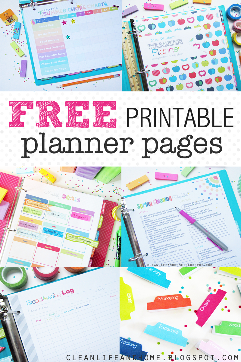 A Blog About Budget Design And Diy Ideas, Projects, Printable - Free Printable Planner 2017 2018