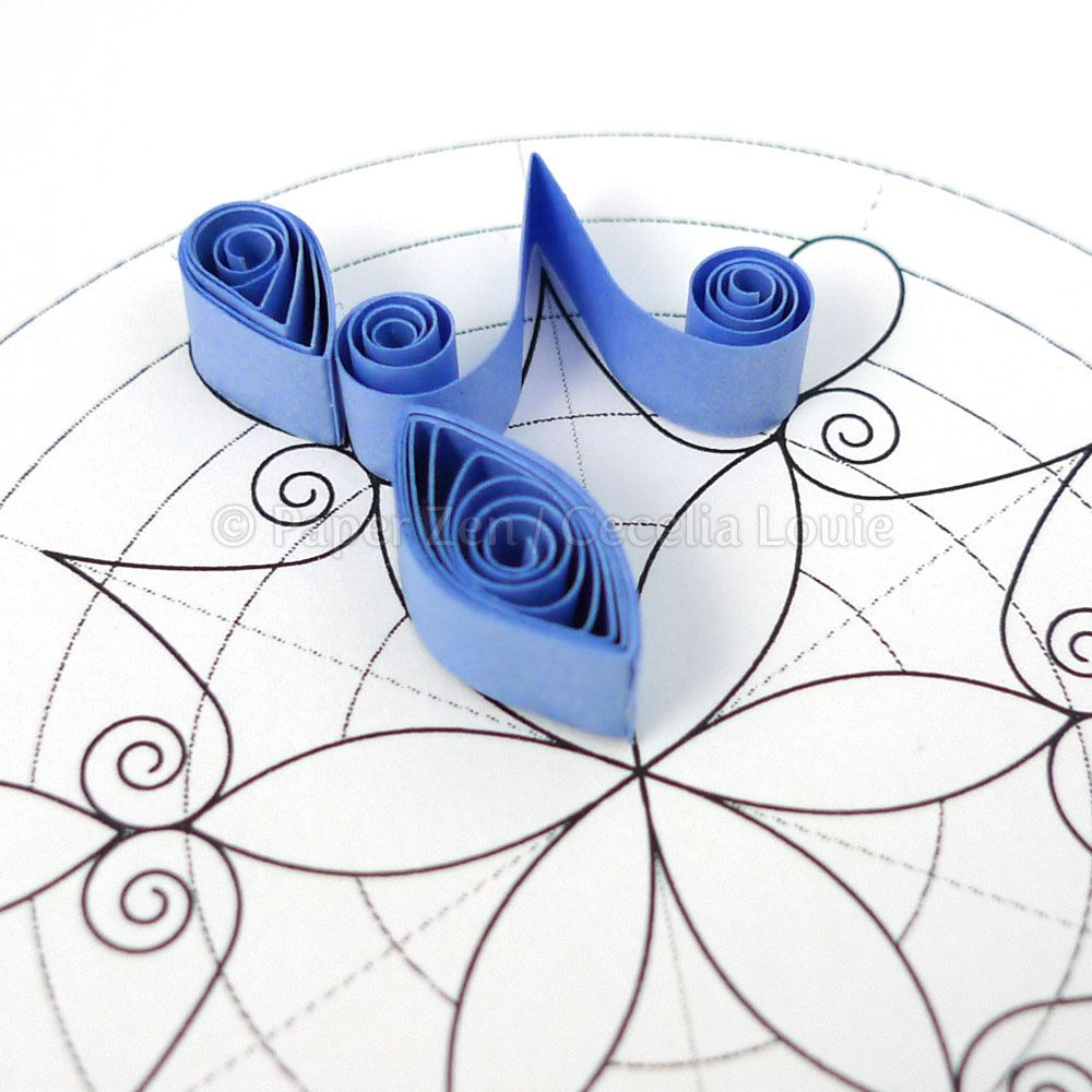 A Blog About Paper Printables, Quilling, And Die Cutting. | Quilling - Free Printable Quilling Patterns Designs