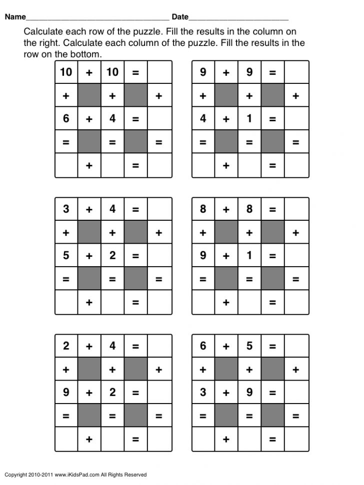 Free Printable Abacus Worksheets