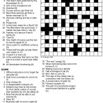 A Cryptic Tribulation Turing Test Crossword Puzzle   Printable Newspaper Crossword Puzzles For Free