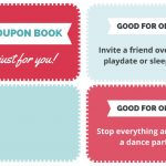 A Free Printable Coupon Book For Kids That Makes The Best Gift   Free Printable Homemade Coupon Book