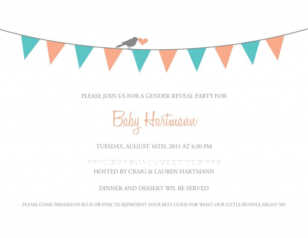 A Free Printable Invite For Your Gender Reveal Party | Printables - Free Printable Gender Reveal Invitations