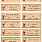 A List Maker's Life: Reindeer Riddles: Free Printable | Christmas   Free Printable Christmas Riddle Games