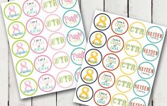 Baptism Cupcake Toppers Printable Free