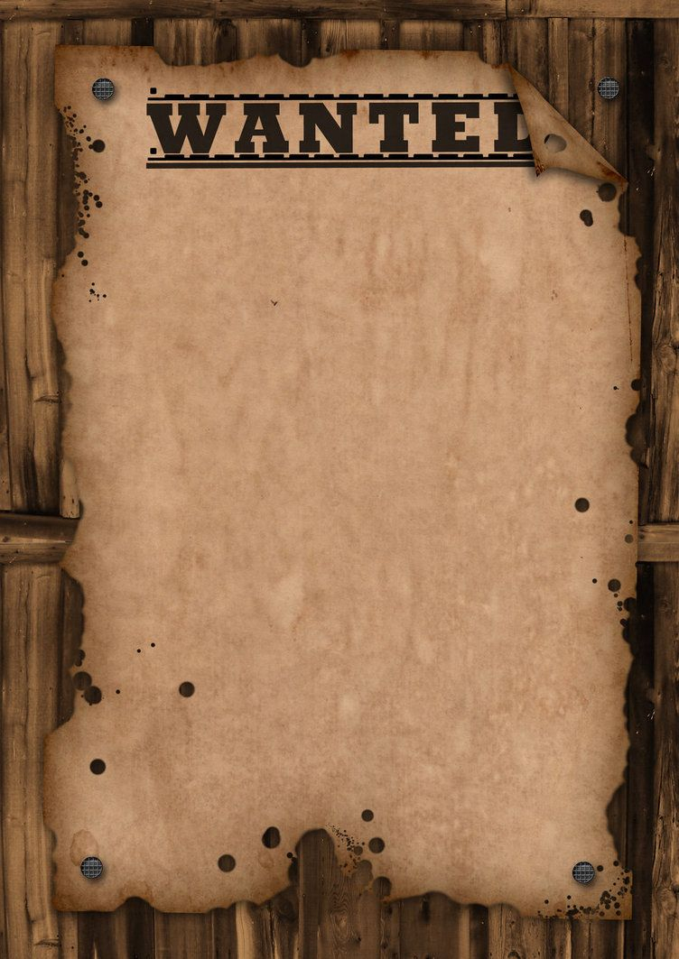 A Template Wanted Poster. Free For Use   Bulletin Boards   Pinterest - Free Printable Wanted Poster Invitations
